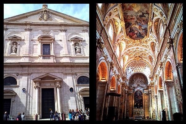Fasada kościoła S. Luigi dei Francesi