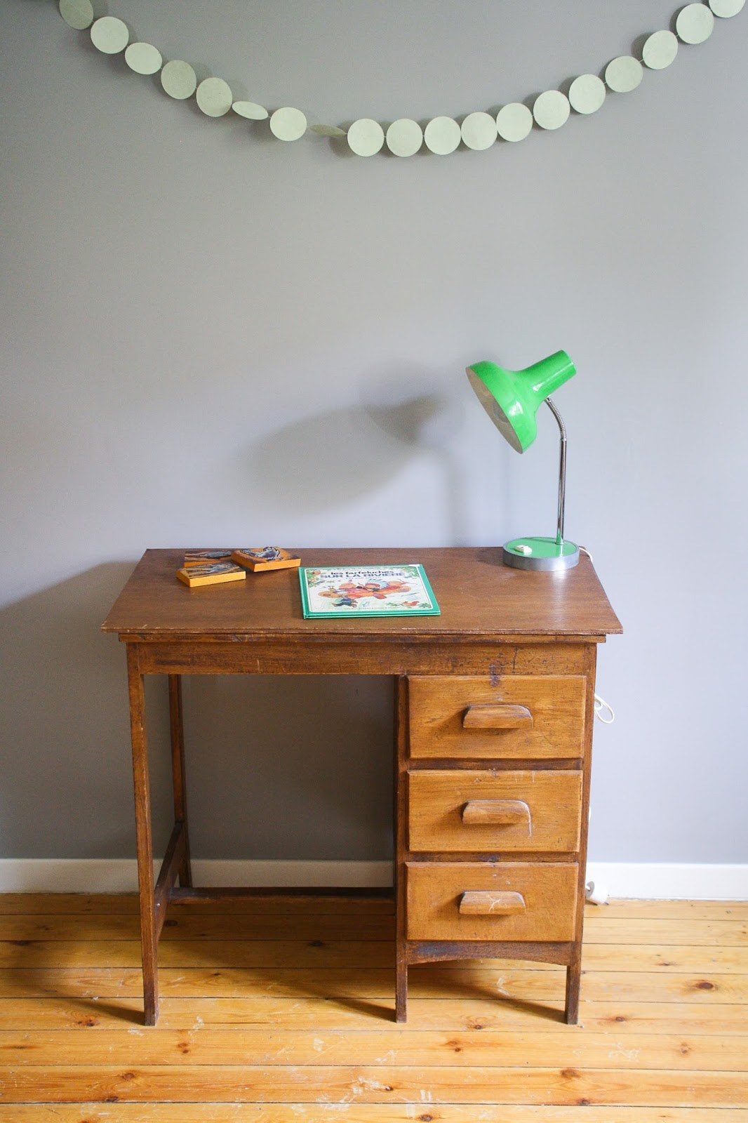 Little vintage lovers un nouveau bureau pour la rentr e for Repeindre un bureau