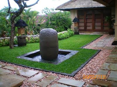 desain taman dan kolam ikan minimalis dalam rumah - blog