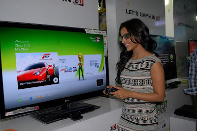 priya anand launches lg 3d game festival photo gallery