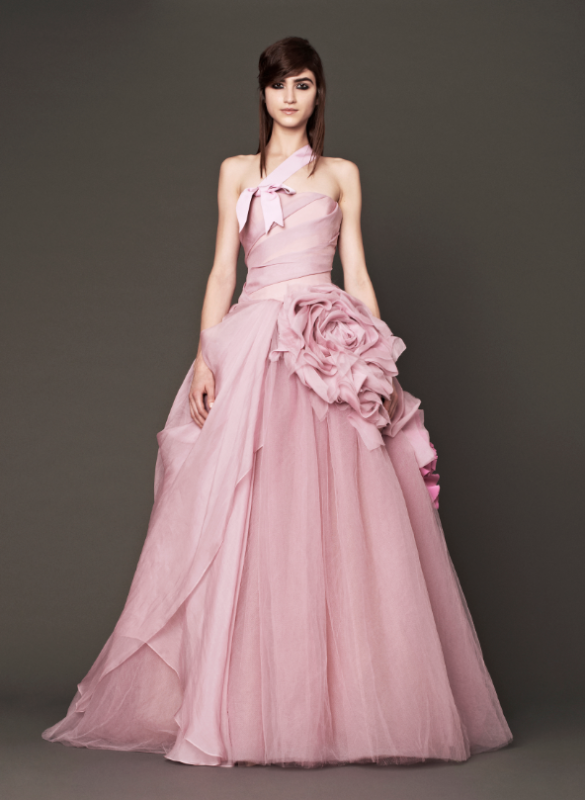 Vera wang latest bridal gown dress noor fashion house 360 for Vera wang rose wedding dress