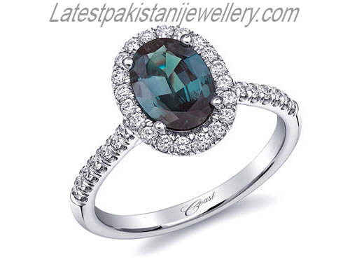 Engagement Ring Trends Colorful Gems