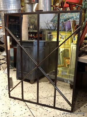 L 39 atelier de philippe miroir indus for Petit miroir industriel