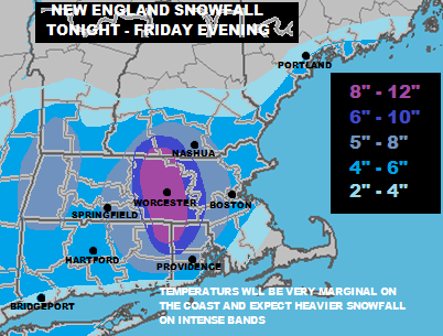New England Snow Forecast