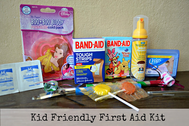 my kid friendly first aid kit #HealthyValue