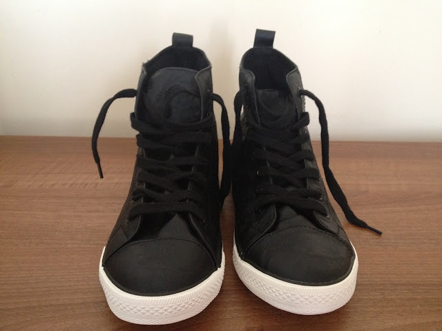 Black High-Top Trainers Primark