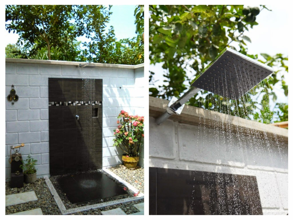 decoraci n casa rural construyendo un ba o al aire libre
