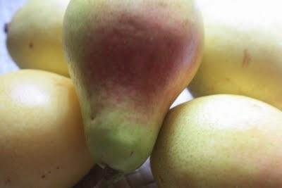 Crema de peras y gorgonzola