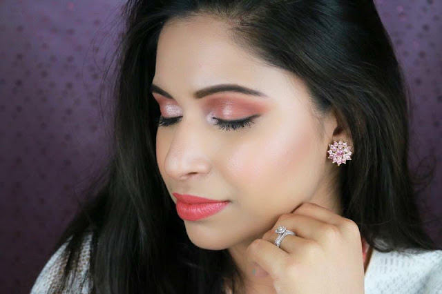 Eid Makeup : Daytime Glam Makeup and Hair Style