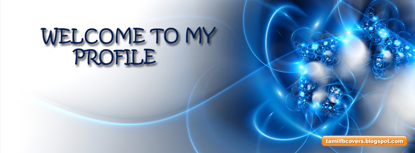 My India FB Covers: Welcome to my profile - Welcome FB Cover