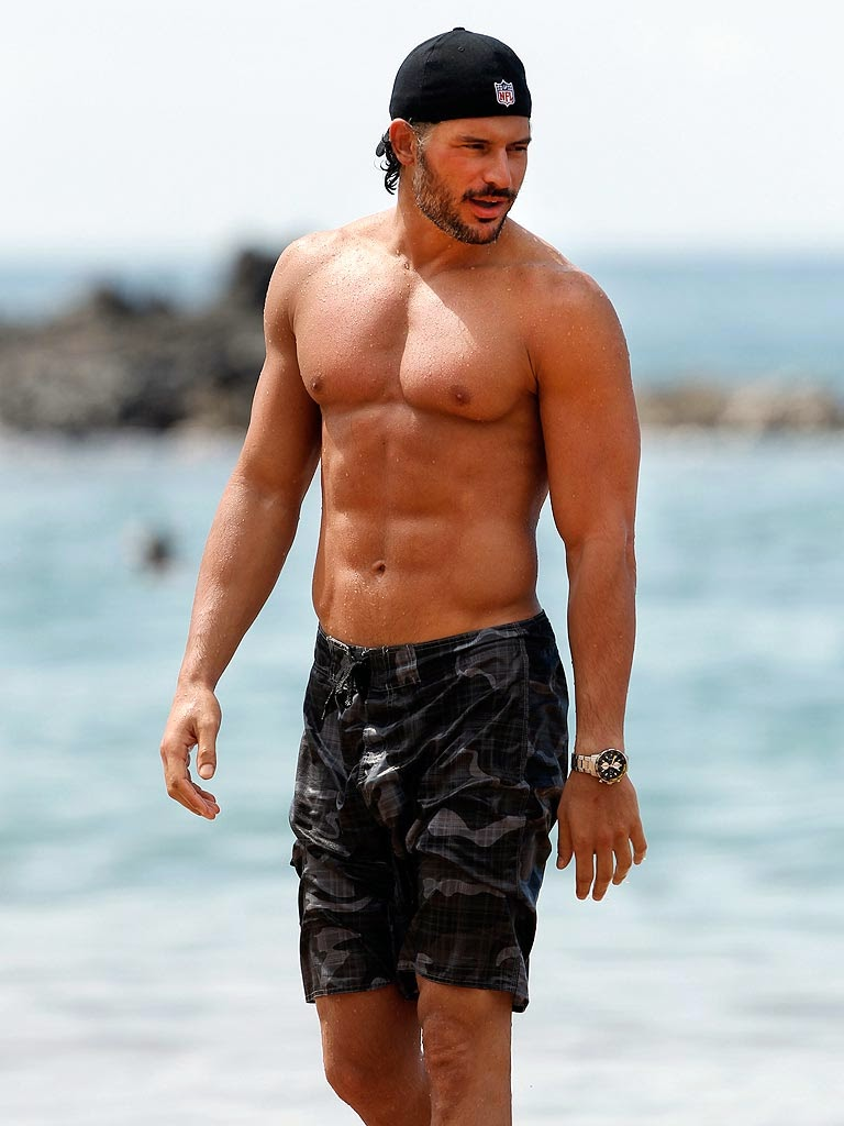 Joe Manganiello with sex Pack Body Images