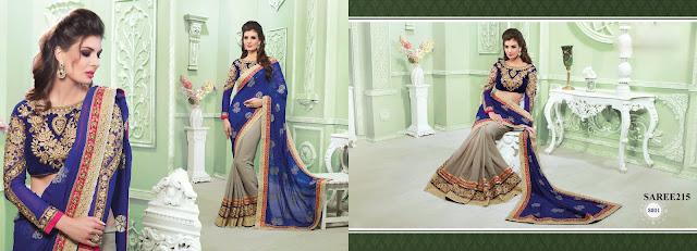Buy Online Heavy Designer Saree – Wholesaler