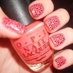 nails Decoração Leopard