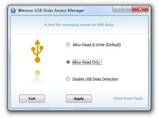 Bikin USB Drive Read-Only? Gunakan Wenovo USB Disks Access Manager