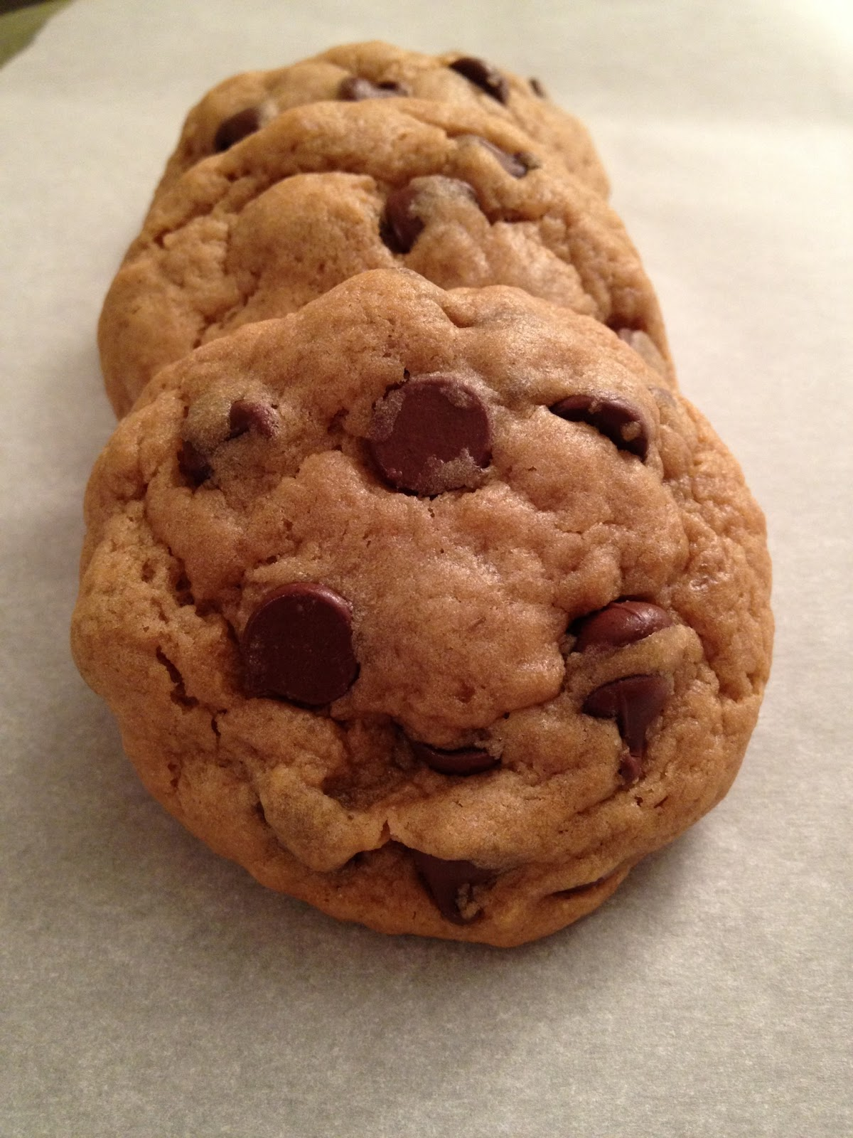 Recipe Endeavors: Peanut Butter Banana Chocolate Chip Cookies