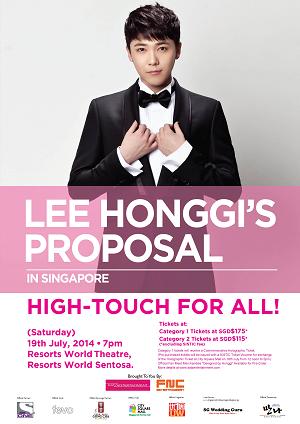 Hongki Fanmeet Singapore 2014