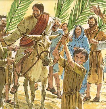 Ilustración por Domingo de Ramos