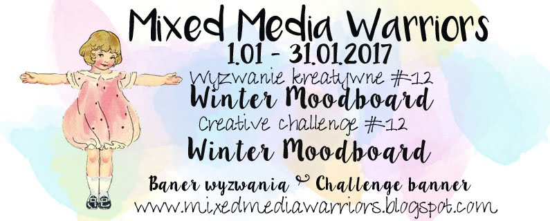 Wyzwanie MMW #12 Zimowy moodboard | MMW Creative challenge #12: Winter Moodboard
