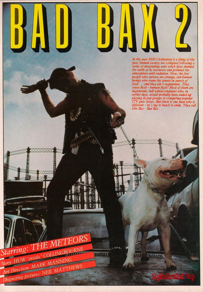 Bad Bax 2 - Paul Fenech 1982 .