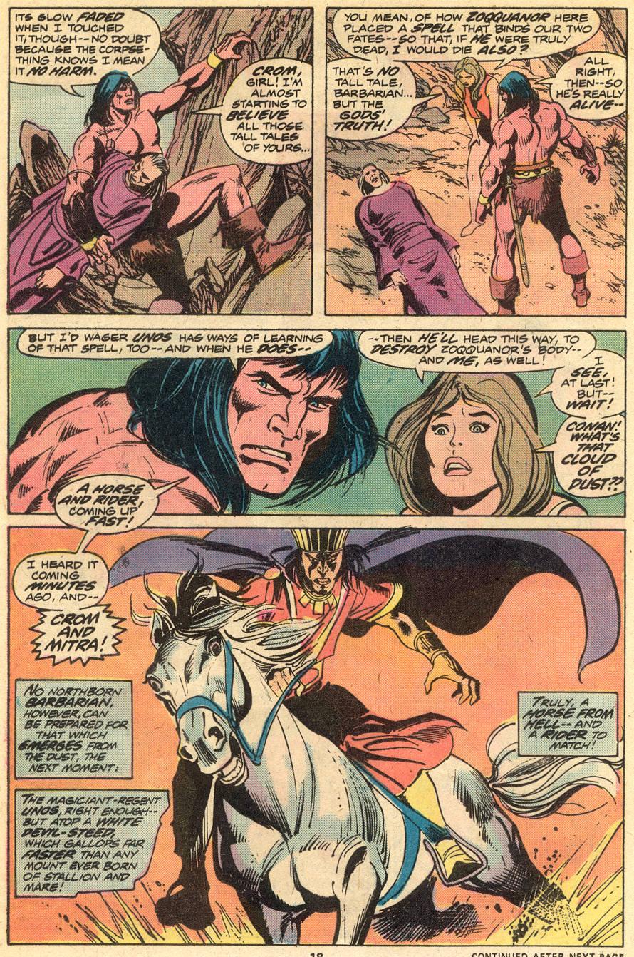 Conan the Barbarian (1970) Issue #51 #63 - English 13