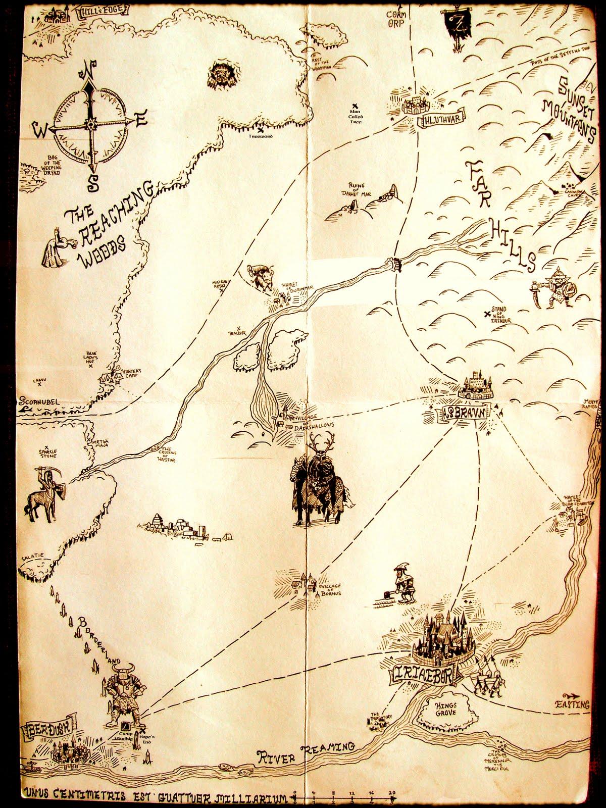 Map of Darnon