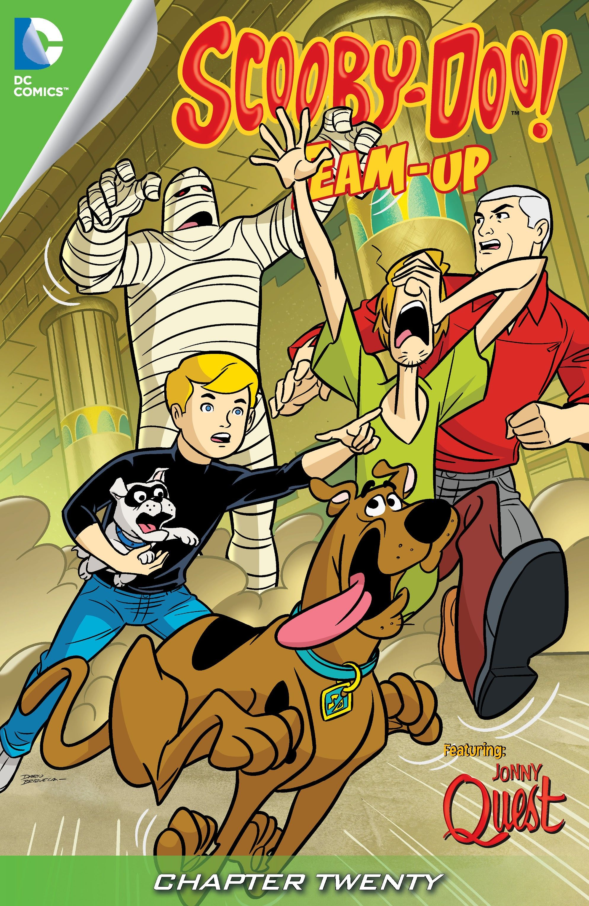 Read online Scooby-Doo! Team-Up comic -  Issue #20 - 2