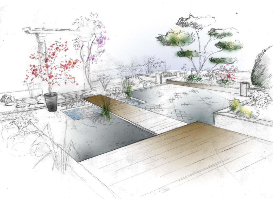 jardin des arts un verre en terrasse. Black Bedroom Furniture Sets. Home Design Ideas