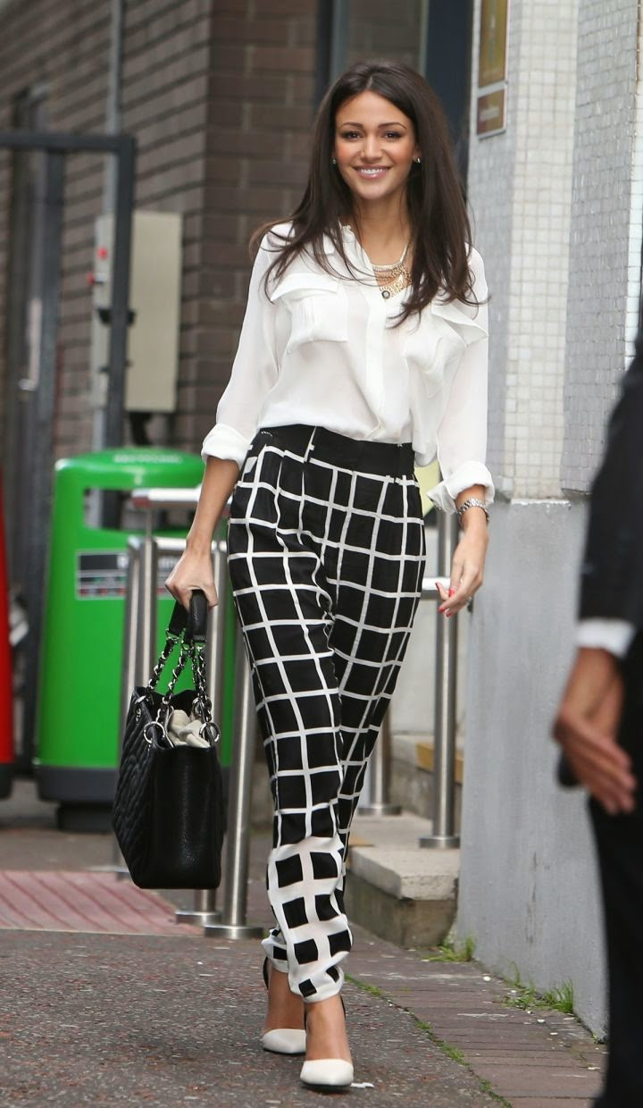 Michelle Keegan Looks Gorgeous at Outside ITV Studios, London