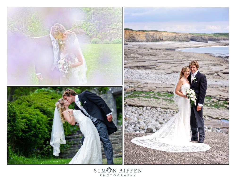 contemporary wedding photography bride and groom