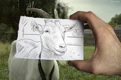 kamera+vs+pencil billyinfo9 Ilustrasi Kamera vs. Lukisan Pensil Yang Menakjubkan