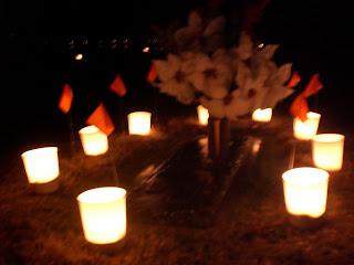 Travel NC With Kids: Rowan Memorial Park Luminaries First Saturday ...