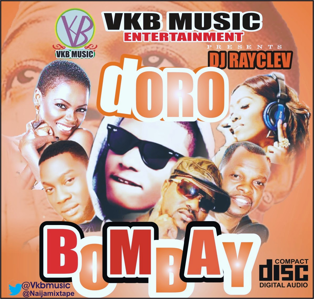 DORO BOMBAY MIX WITH WIZKID (HOST: VKB MUSIC)