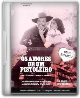 DVD Os amores de um pistoleiro (Um pistoleiro chamado Papaco) - VHSRip 1986