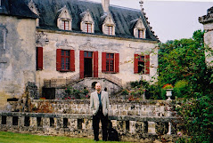 Bill Tieleman at Chateau Olivier, Pessac-Léognan, Bordeaux, France