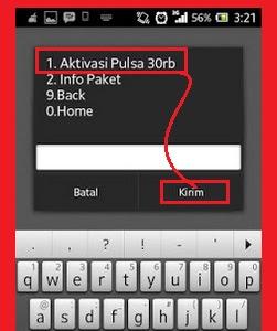 gambar cara mendapatkan pulsa gratis telkomsel