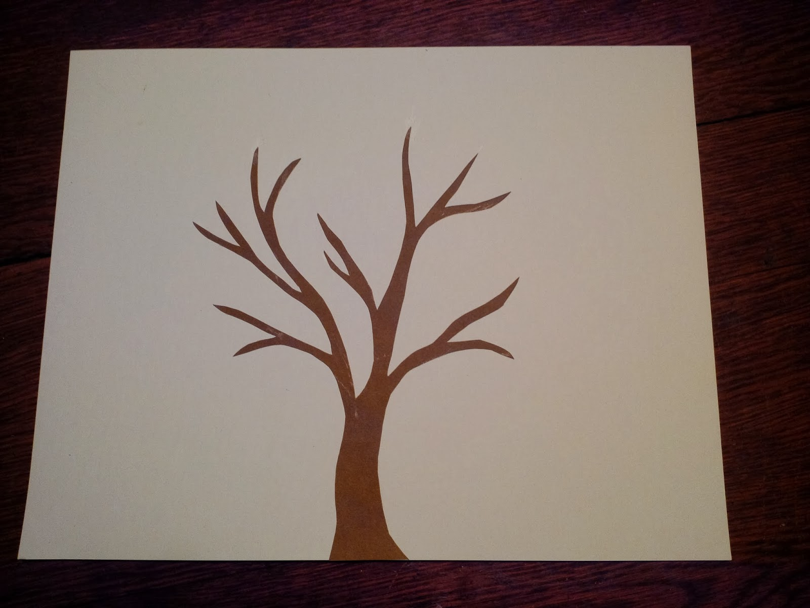 Craft Time: Handprint Trees