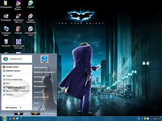 Free Windows XP SP3 Batman Edition Full Version
