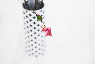 DiY Blumenvase - Upcycling Projekt mit kostenlosem Papier zum Ausdrucken