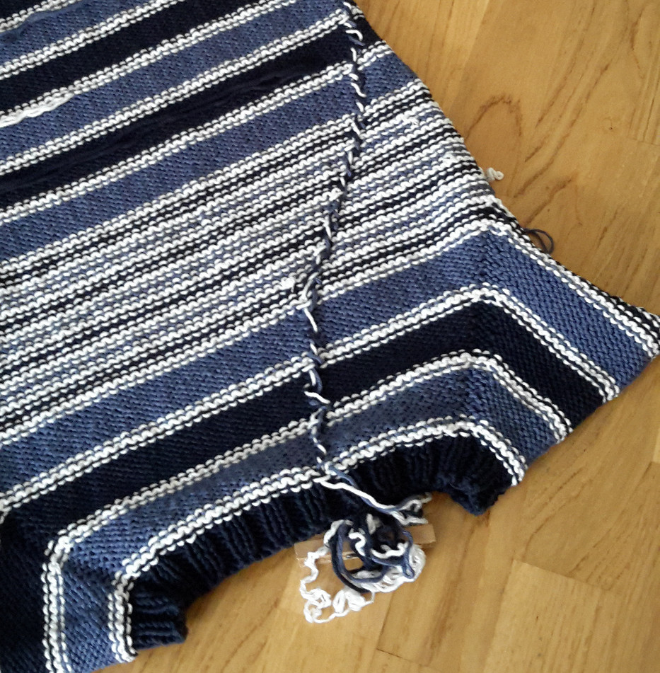 Knitting A Sweater Without A Pattern : Knitting and so on tips to knit a striped top down