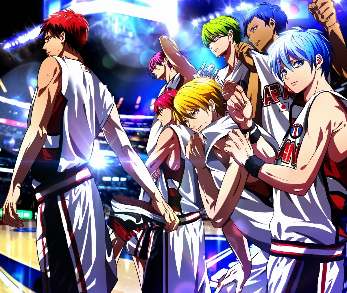 Kuroko no basket iii terceira temporada do anime kuroko no basket confirmada para 2015 voltagebd Choice Image