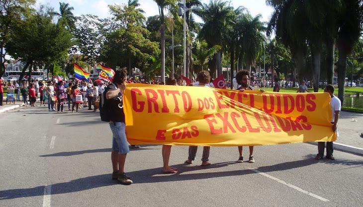 Movimentos sociais mobilizados no Grito dos Excluídos 2011