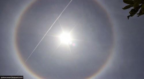 Menakjubkan Fenomena Cincin Pelangi Matahari Buat Korang Teruja