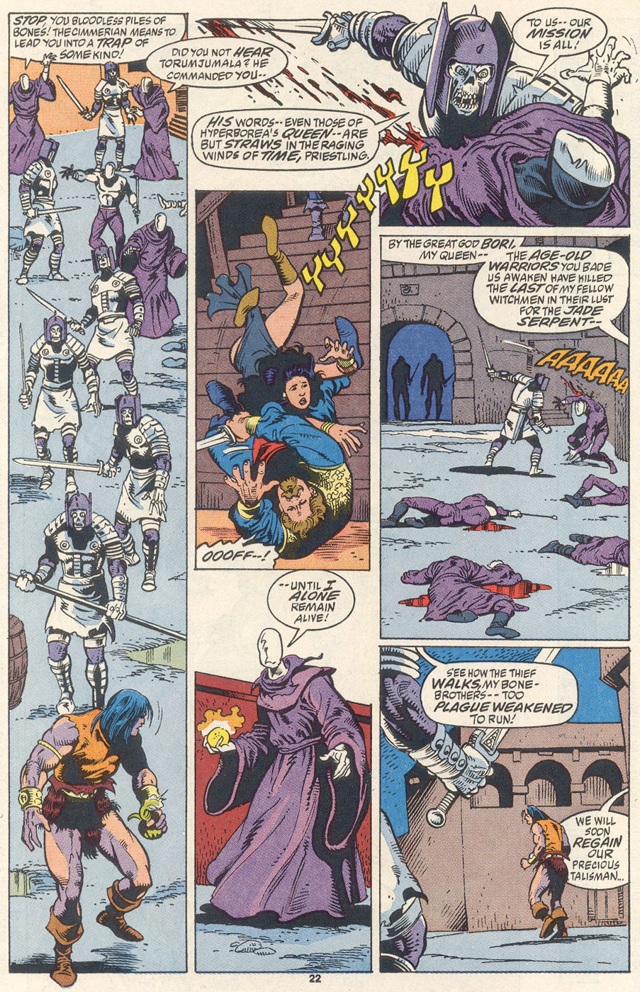 Conan the Barbarian (1970) Issue #256 #268 - English 17