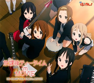K-ON! Movie Album - Houkago Tea Time in MOVIE