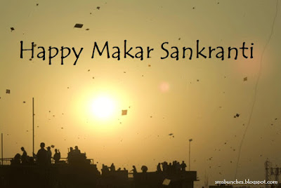 Happy Uttarayan SMS in HIndi - Makar Sankranti 2016 Messages
