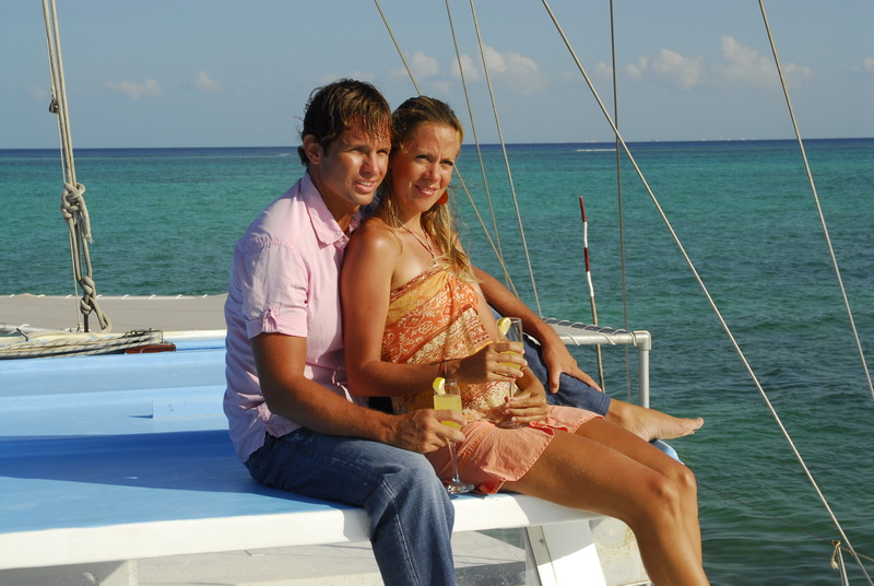 couples catamaran