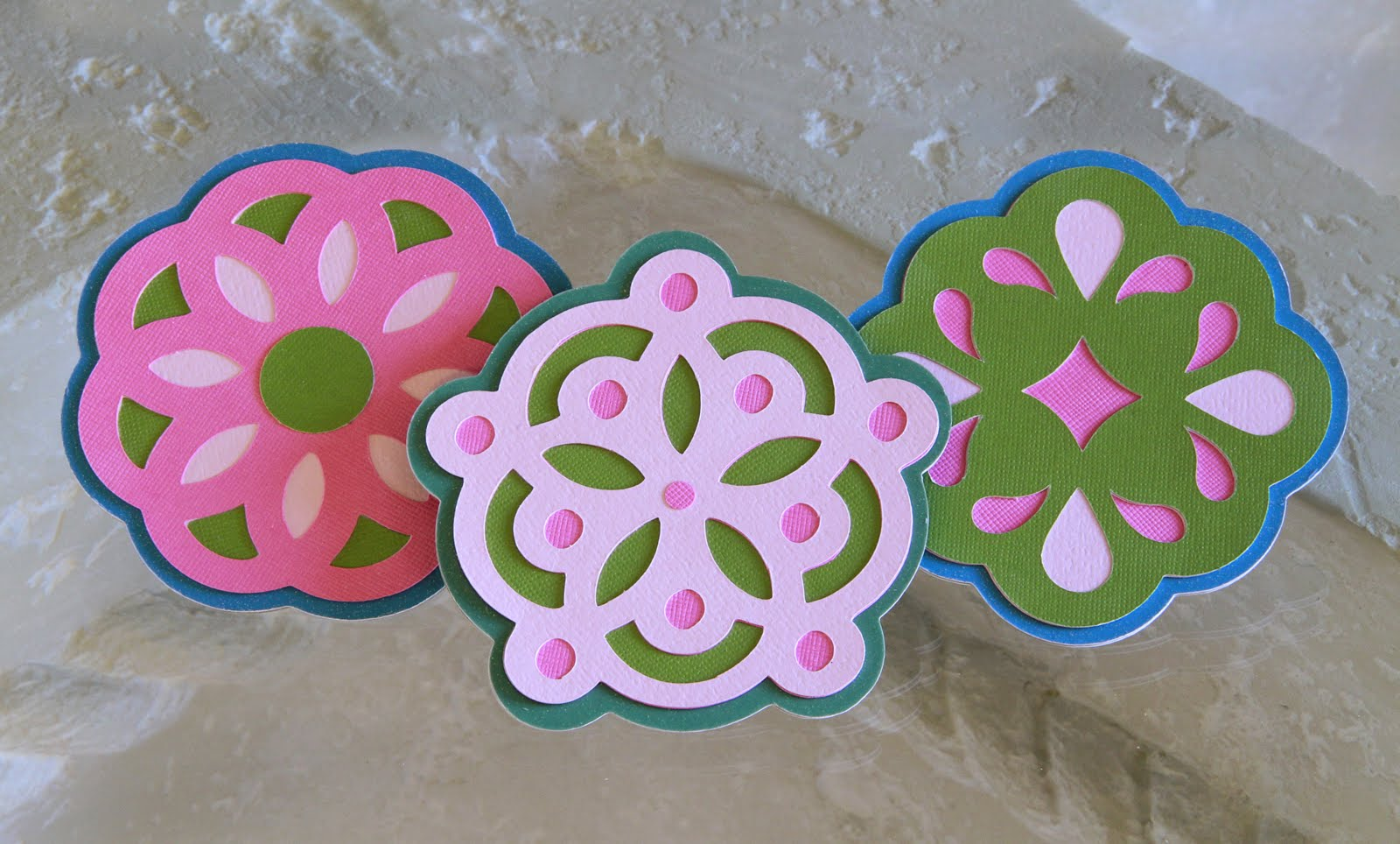 The Paper Boutique: How to Make Coasters Using Chipboard and Card Stock