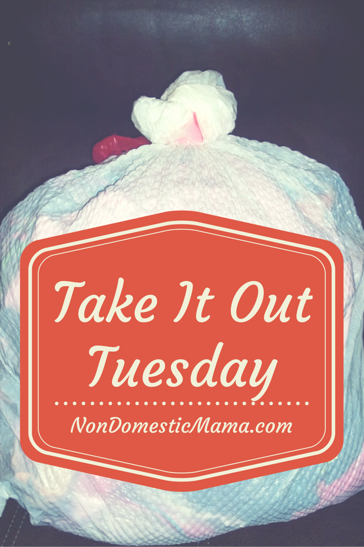 Take It Out Tuesday #dehoarding #linkup #takeitouttues