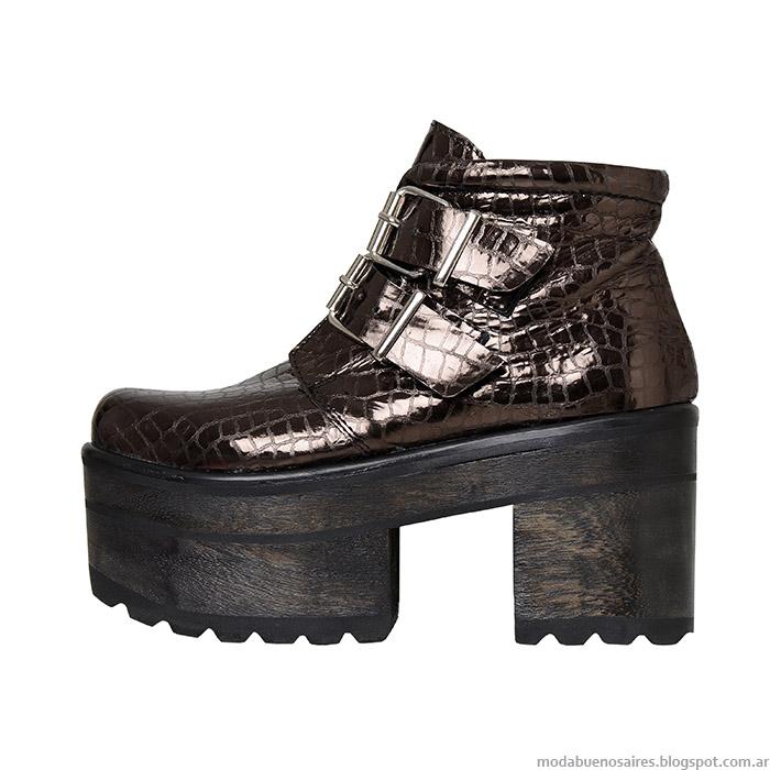 zapatos otoño invierno 2015 L'Tau.
