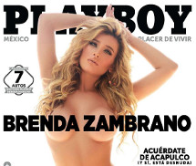 Brenda Zambrano Playboy México Novembro 2015